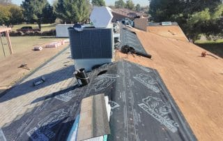 Arizona monsoon storm roof repair services